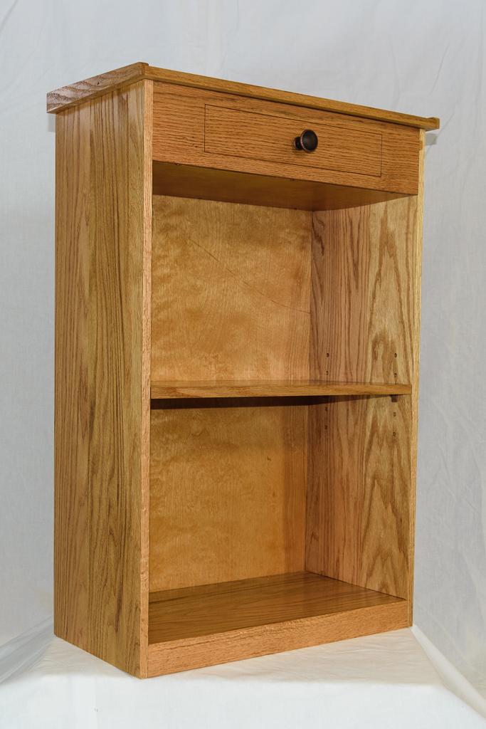Steve S Woodworking Oak Bookcase
